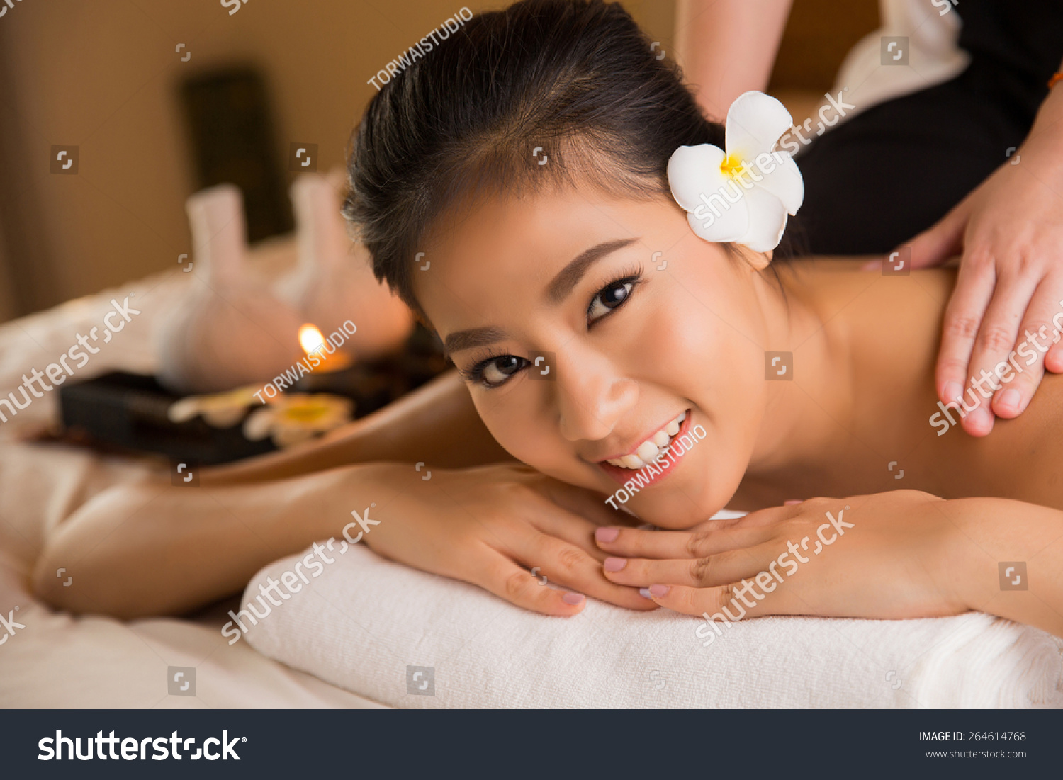 Seriously why asian woman spa