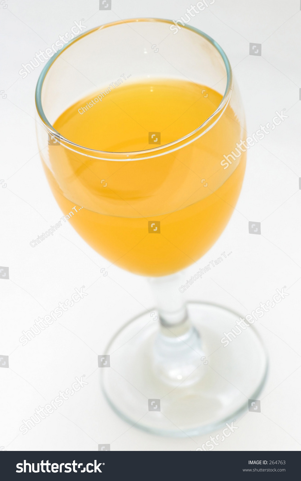 orange juice in wine glass stock photo 264763 shutterstock