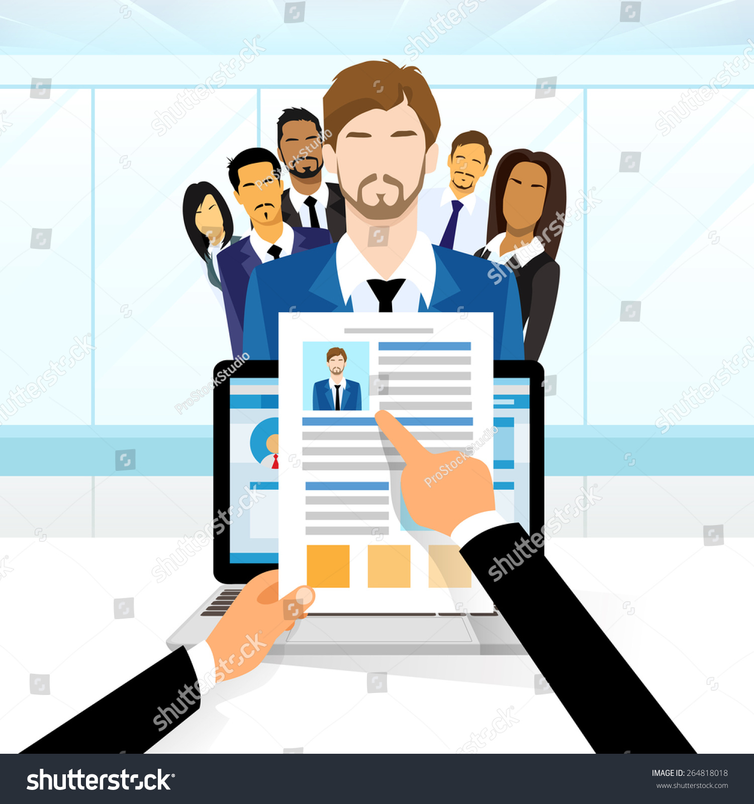 curriculum vitae recruitment candidate u2026 stock photo 264818018