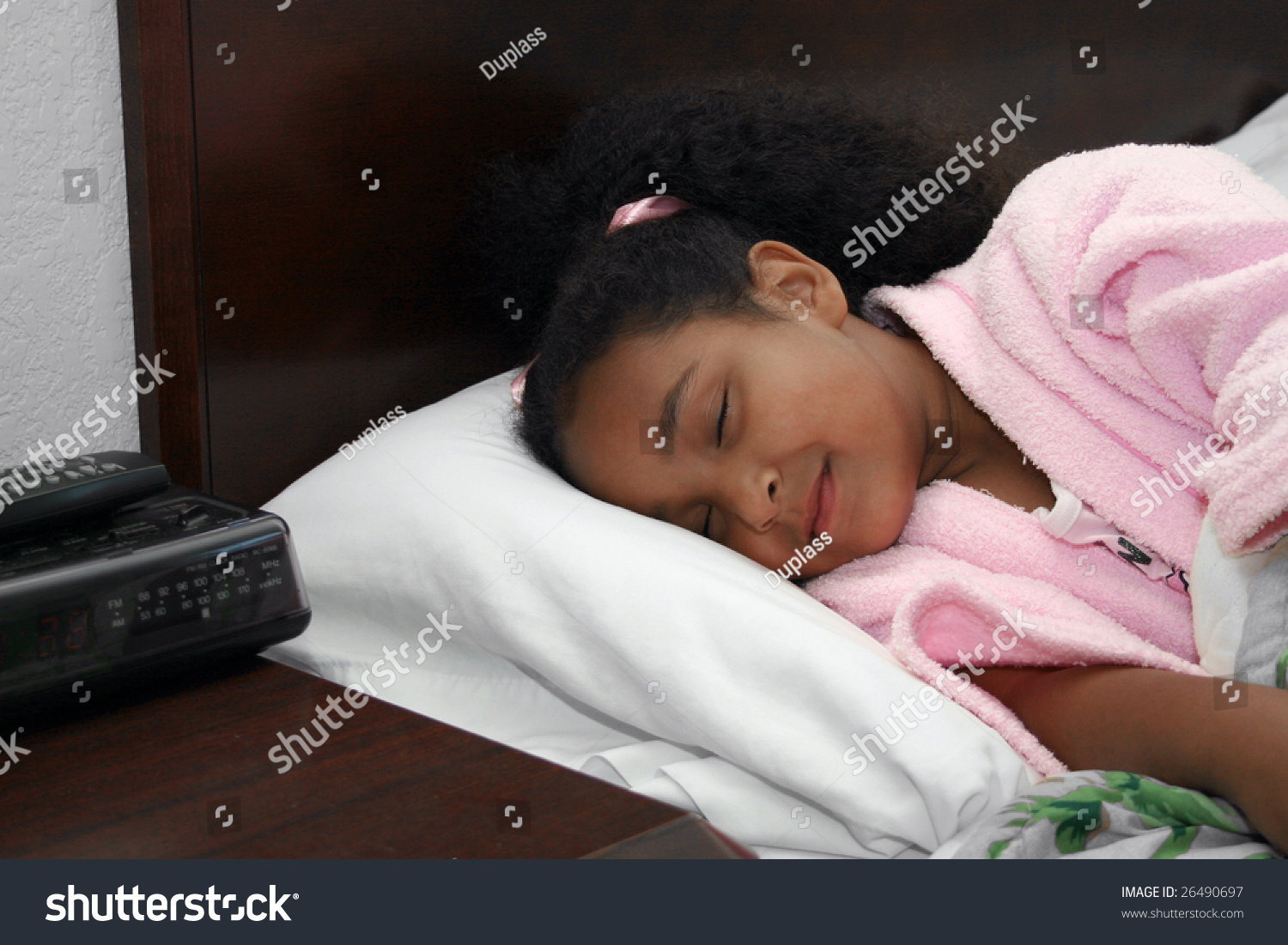 Adorable five year old african american girl sleeping in for 5 yr old beds