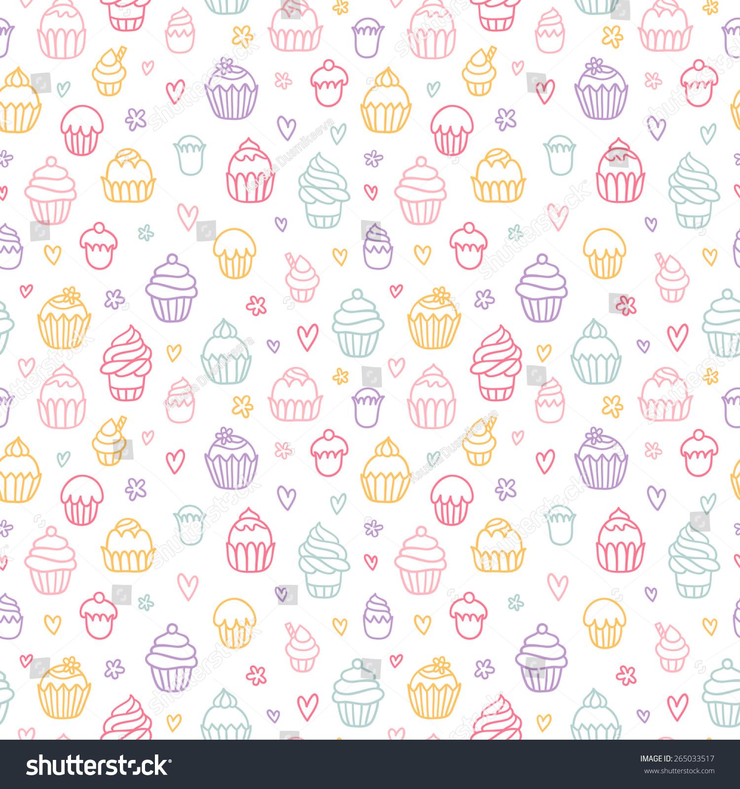 white gir cupcake wallpaper - photo #14