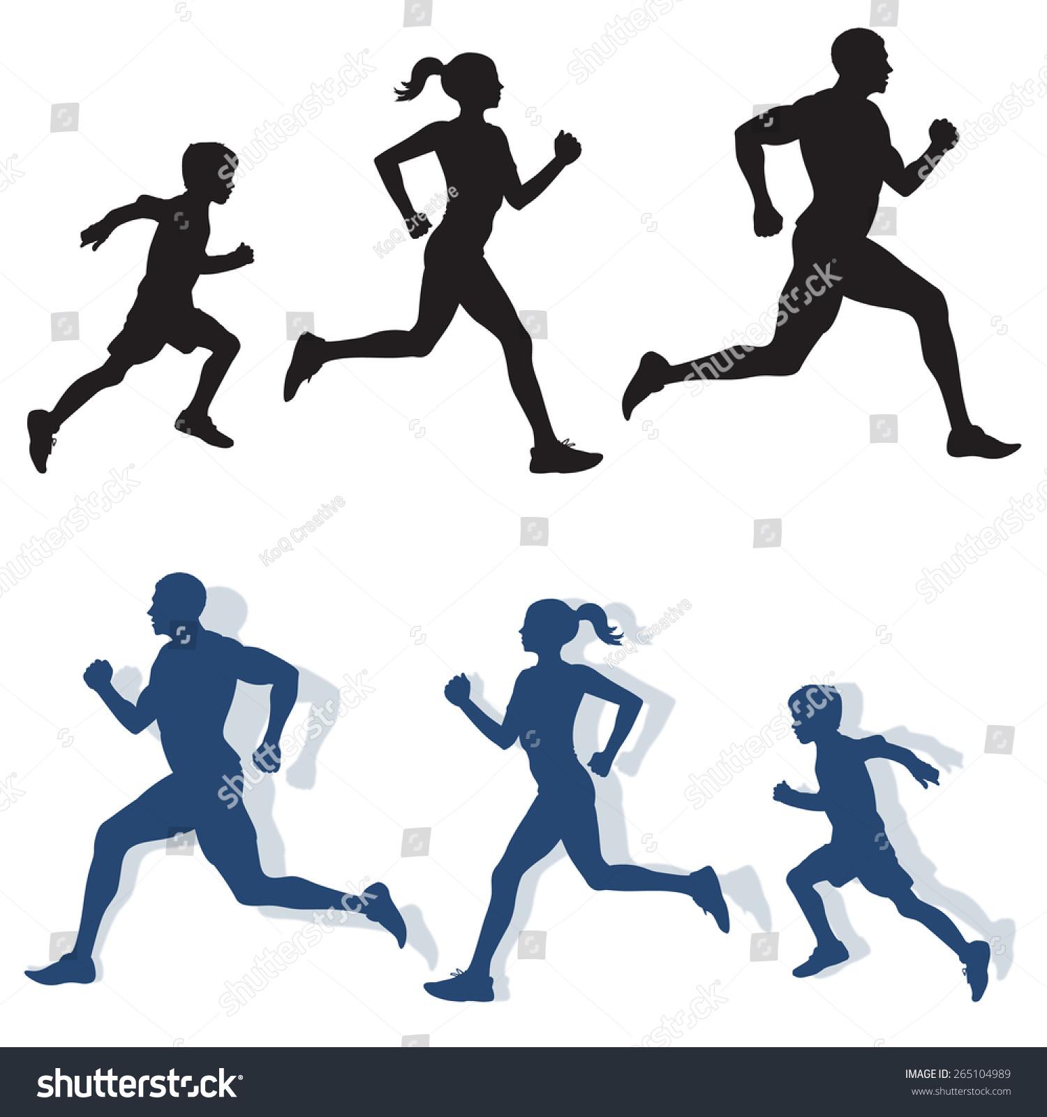 family running clipart - photo #42