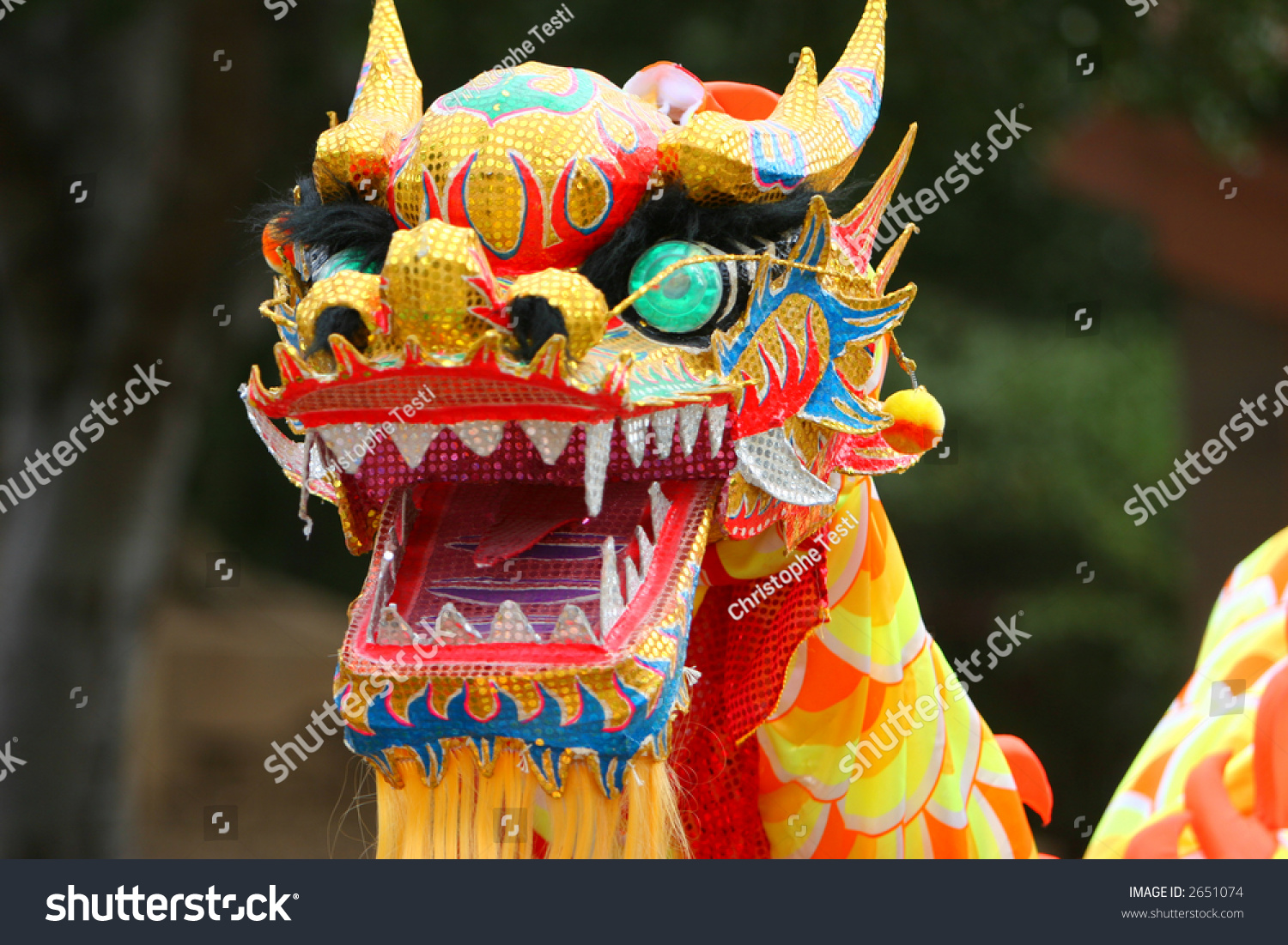 How to write dragon dance in chinese