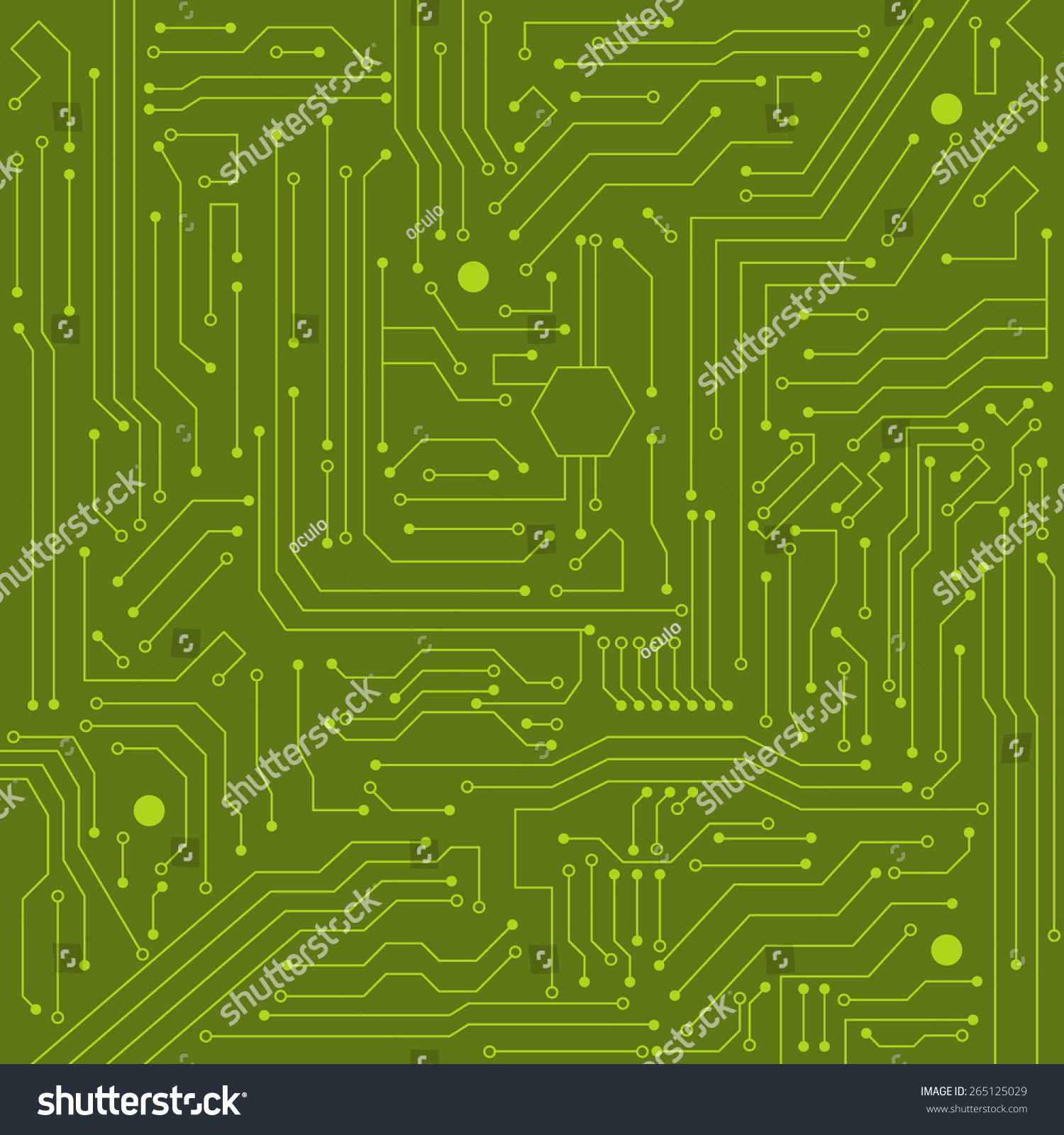 Integrated Circuit Stock Image Image 1681331