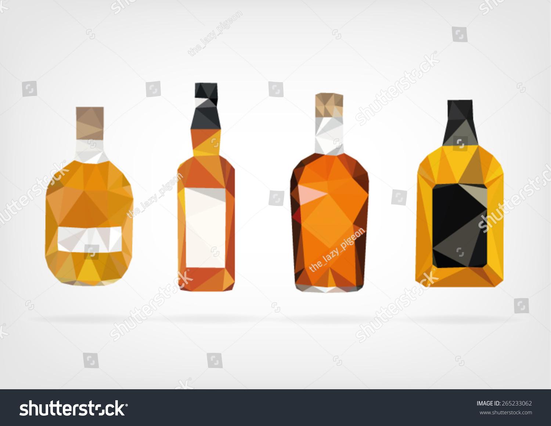 Liquor Bottle Label Template Stock Images Photos - Liquor bottle labels template