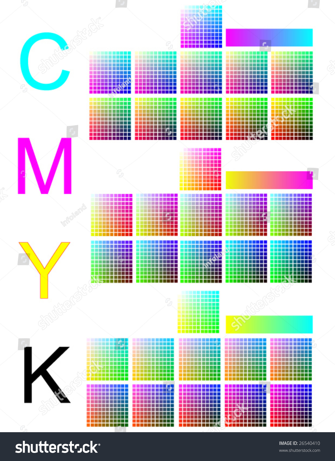 What is CMYK CMYK color palette 31