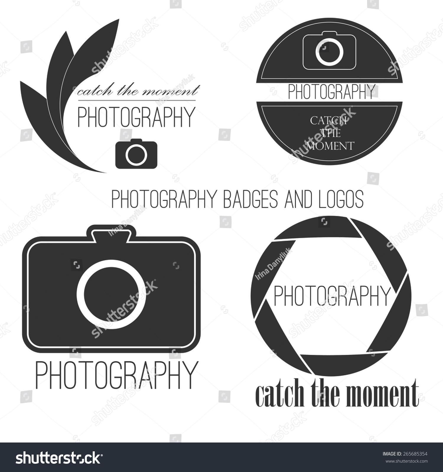 Photo Studio Logo Business Card Template Stock Photo (Photo, Vector ...