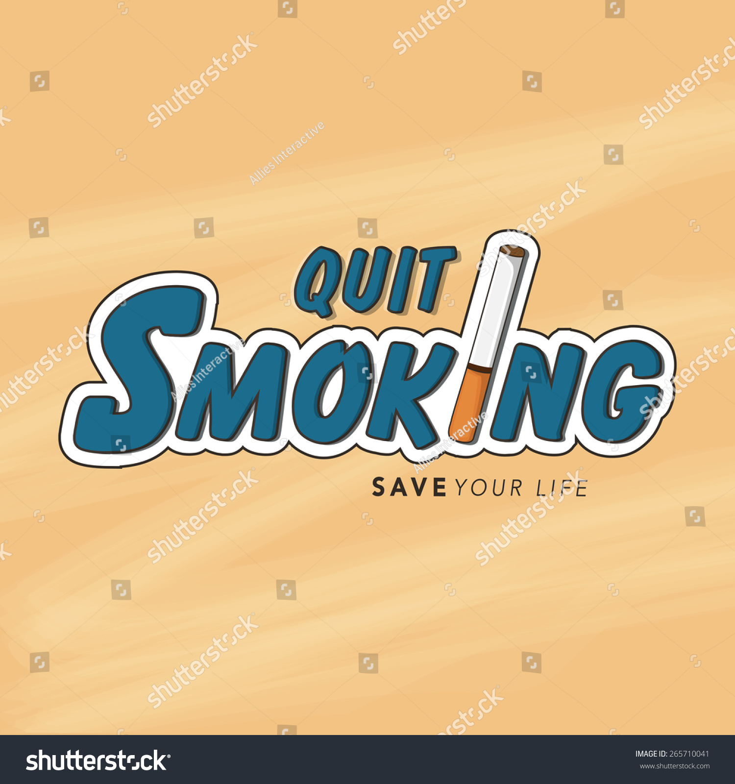 No Smoking Day Poster Banner Flyer Stock Vector Royalty Free 265710041