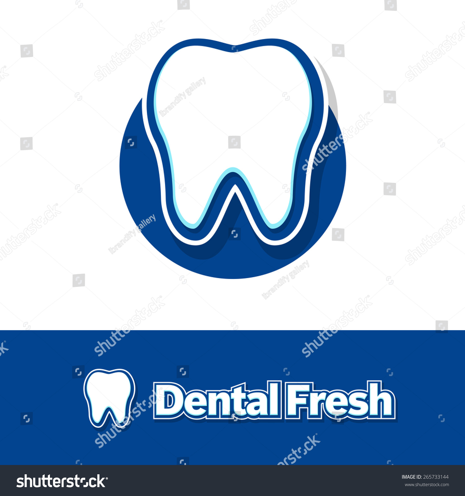 Dental Logo Design Creative Dentist Logo Stock Vector 265733144 ...