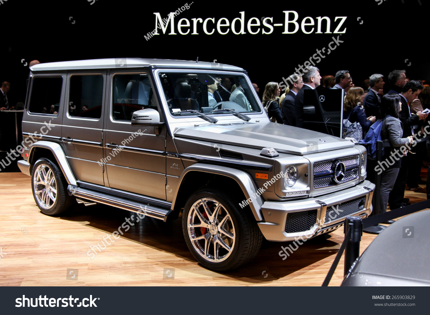 New york april 1 mercedes benz exhibit new g 65 at the for Mercedes benz of new york