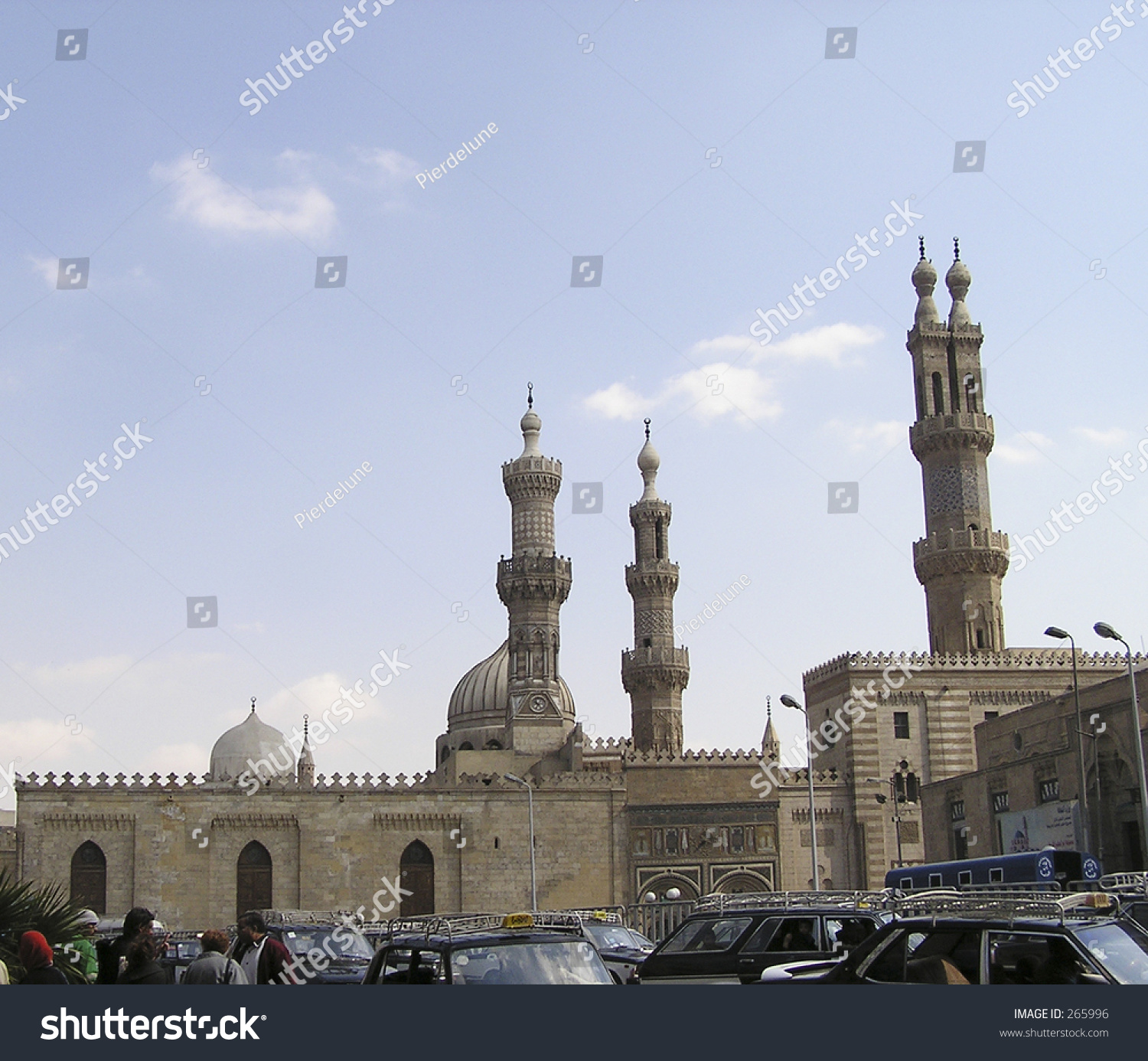 view of baqee' muslim cemetary at masjid (mosque) nabawi in al