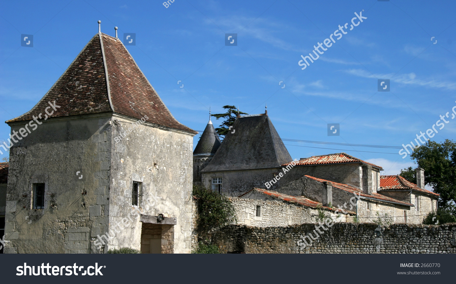 Small chateau in france stock photo 2660770 shutterstock for Small chateau