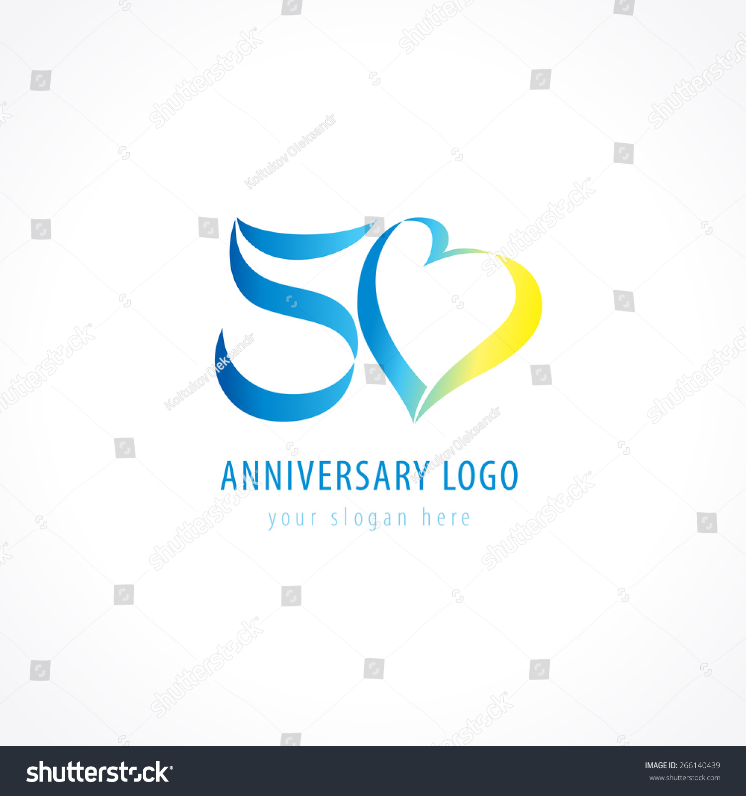 Anniversary logo template images best