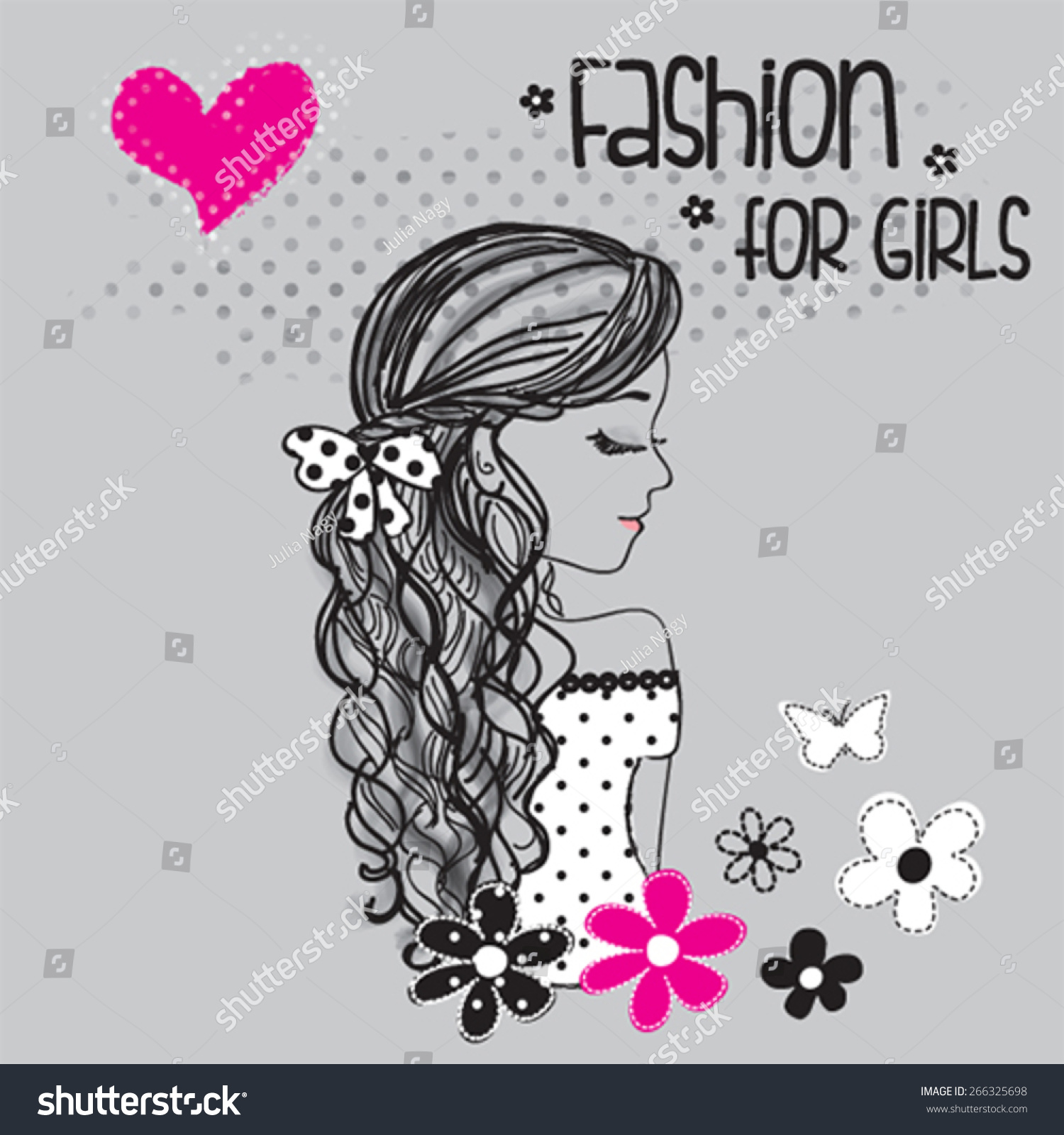 Shirt design in girl