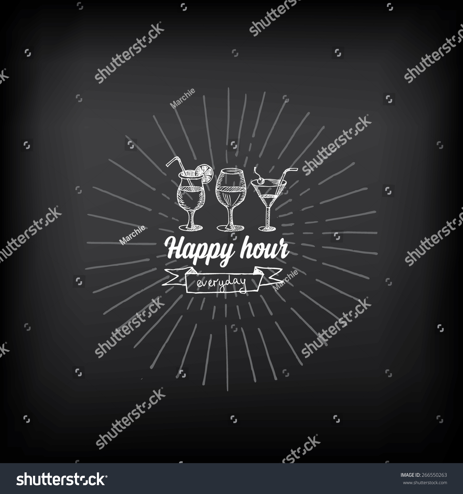 Chalkboard Invitation Banners - How to make a birthday invitation in photoshop elements
