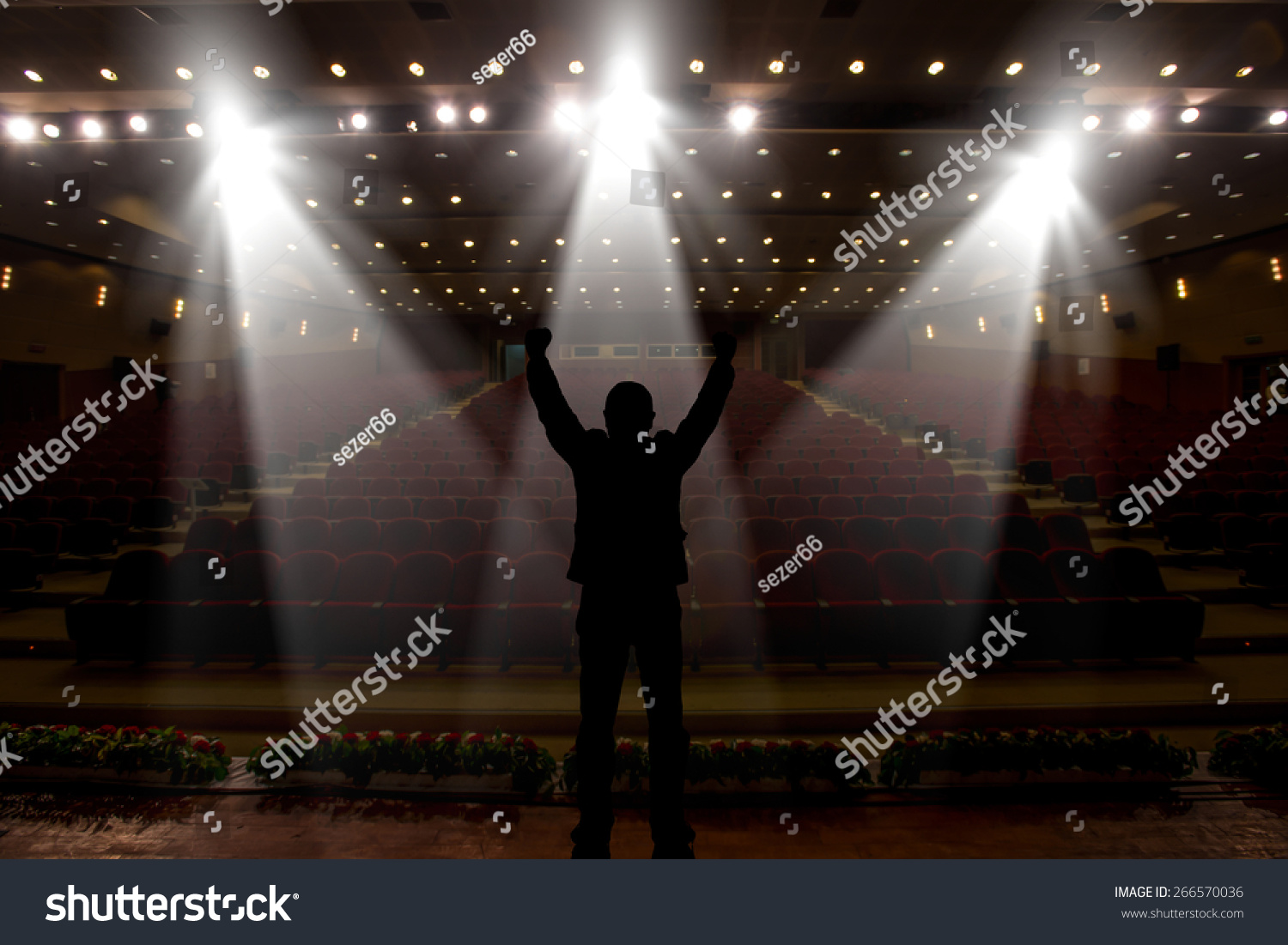 Silhouette Of Actors I...