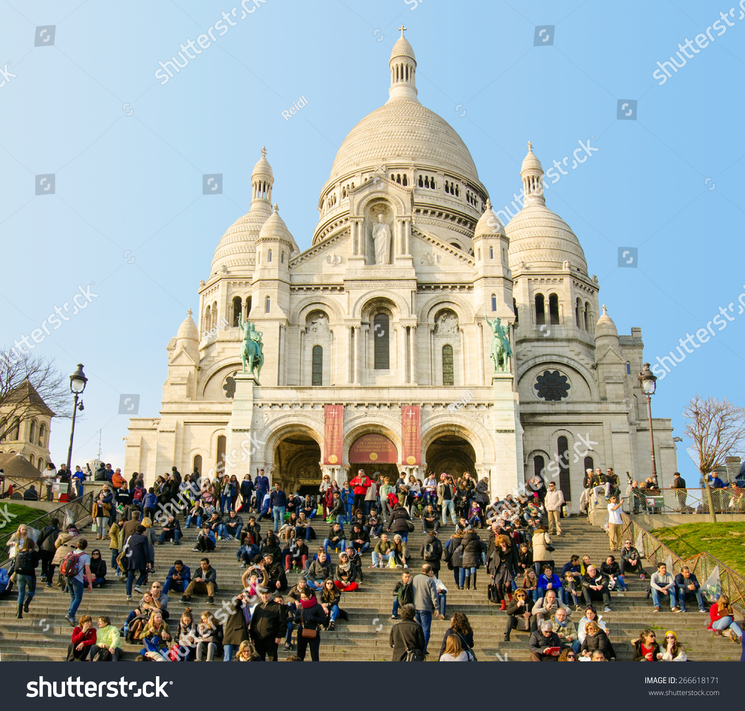 Paris France March 16 2015 People Stock Photo 266618171