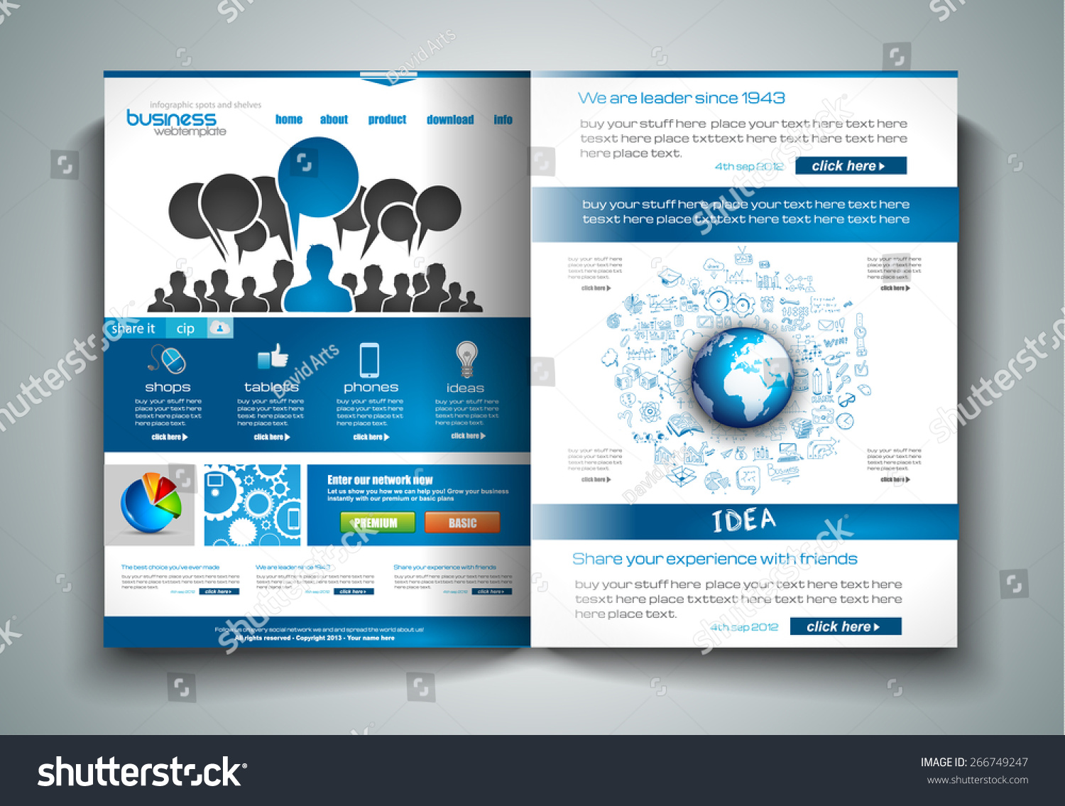 vector bifold brochure template design flyer stock vector vector bi fold brochure template design or flyer layout to use for business applications