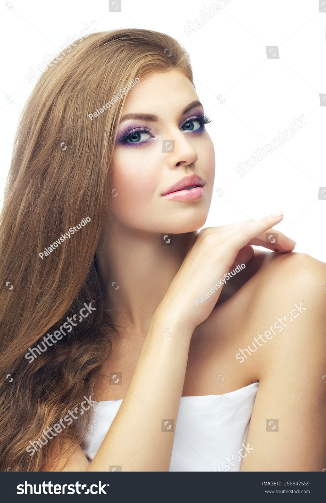Very Graceful Very Sexy Russian Girl Stock Photo Edit Now 266842559