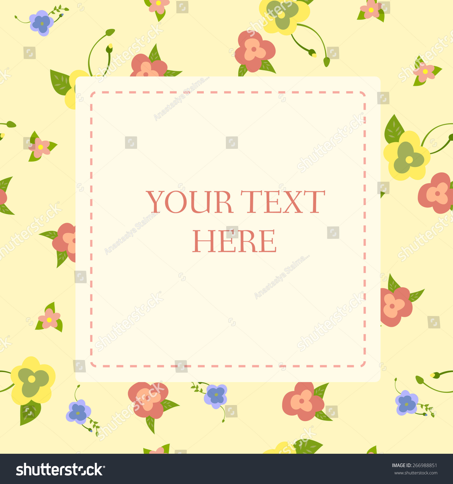 Congratulations on mothers day happy birthday stock vector 266988851 congratulations on mothers day happy birthday invitation to the feast greeting card with m4hsunfo