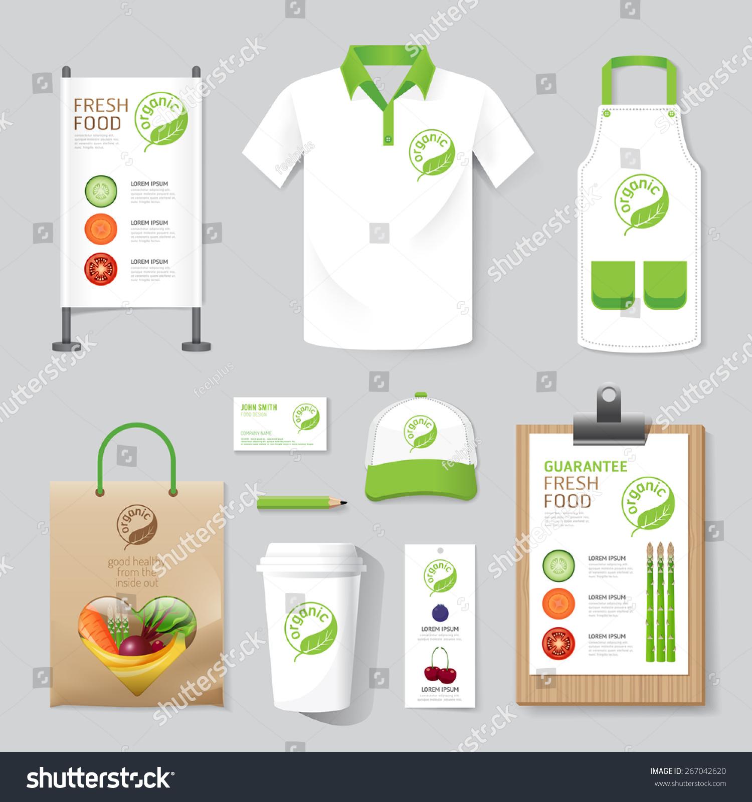 Shirt uniform design vector - Vector Health Beauty Shop Set Flyer Menu Package T Shirt