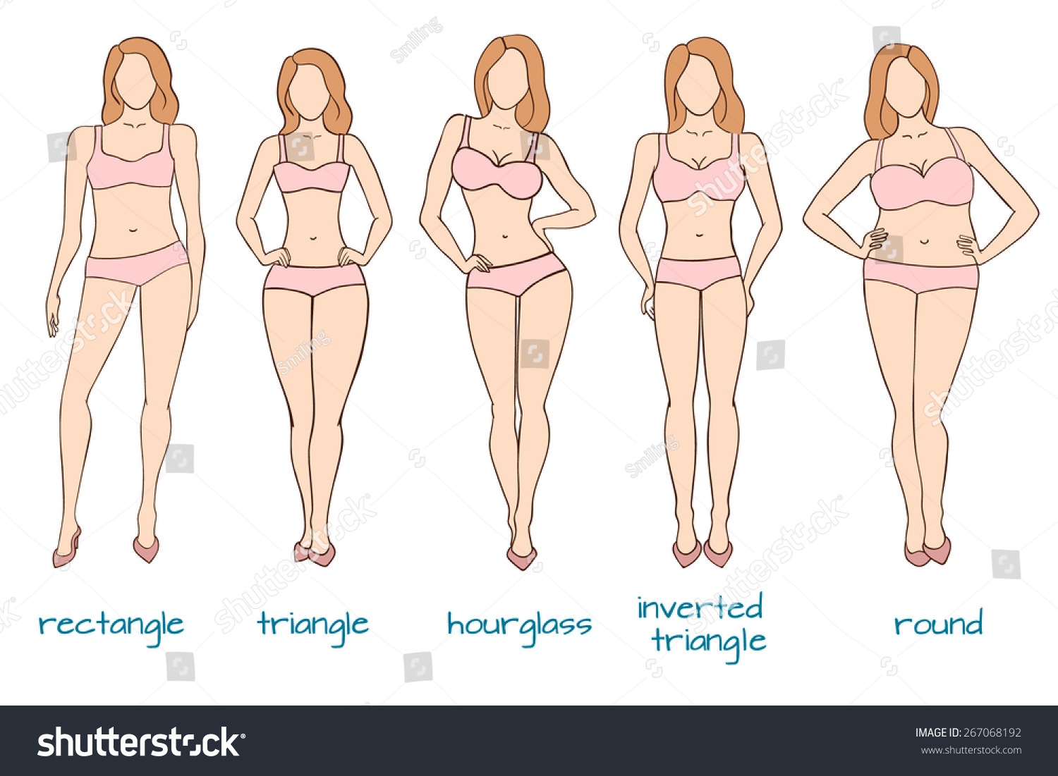 Women's Ideal Body Types Throughout
