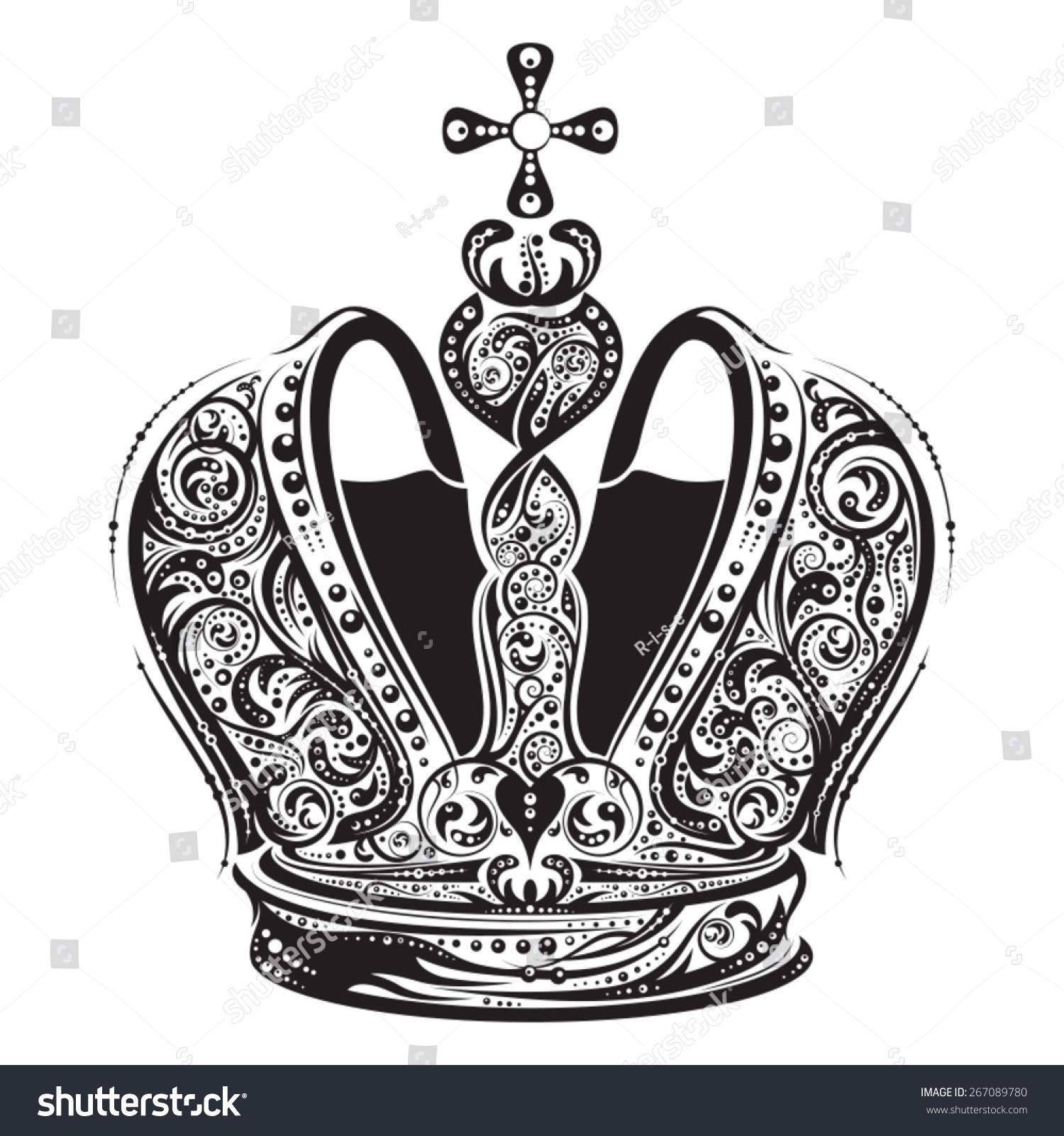 imperial crown tattoo designs. Black Bedroom Furniture Sets. Home Design Ideas