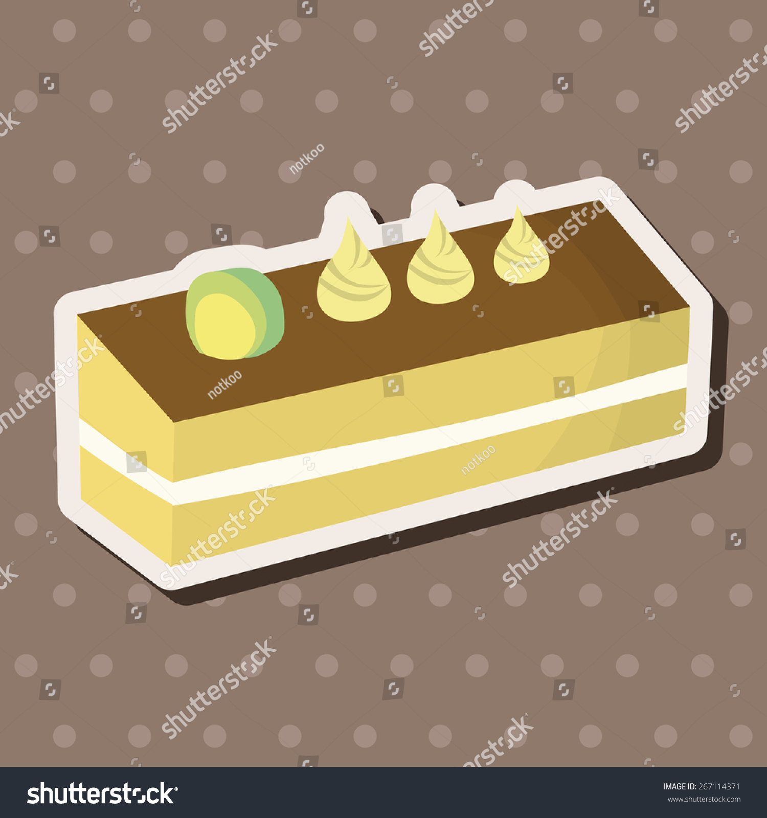 Cake Decorating Stock Images : Decorating Cake Elements Vector,Eps - 267114371 : Shutterstock