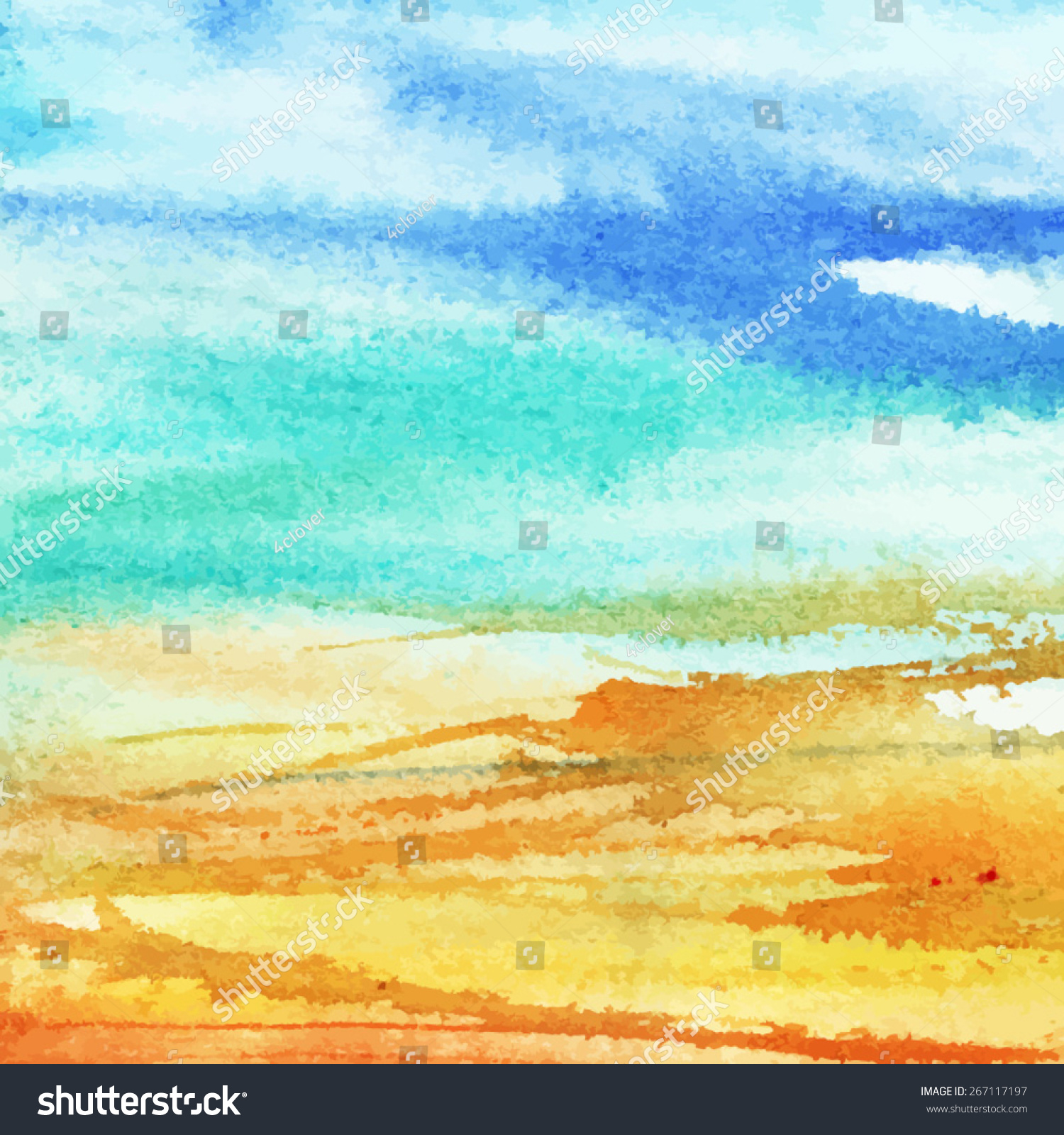 Summer Abstract Background Part1/ Stain, Lines, Blur