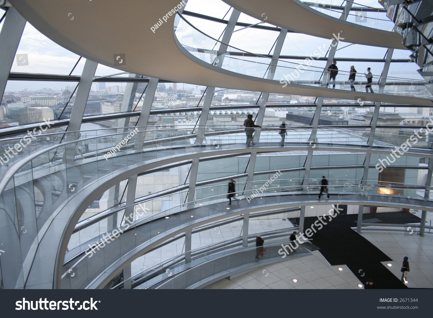 passage in the reichstag berlin germany stock photo 2671344 shutterstock. Black Bedroom Furniture Sets. Home Design Ideas