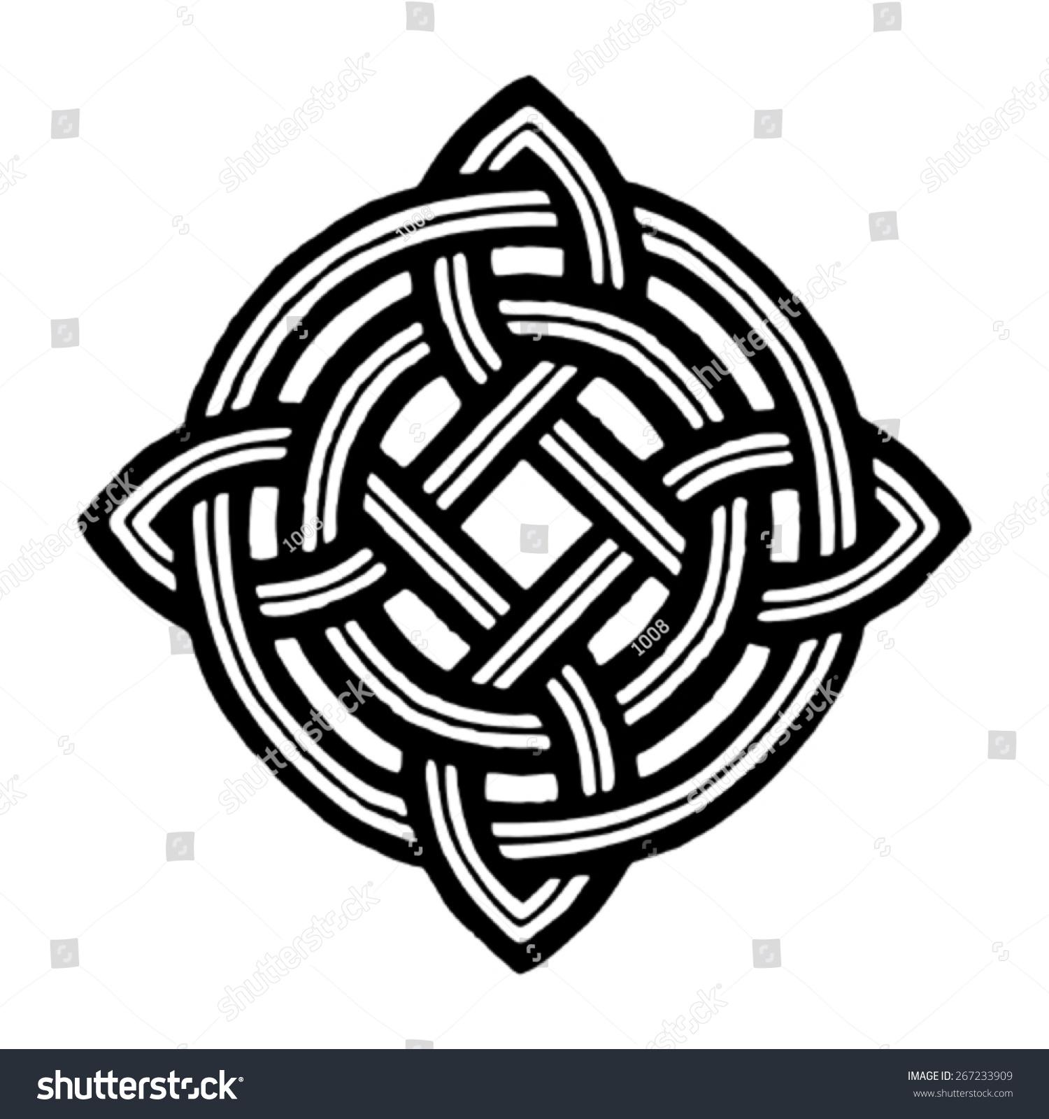 Medieval celtic viking tattoo symbol stock vector 267233909 medieval celtic viking tattoo symbol biocorpaavc Choice Image