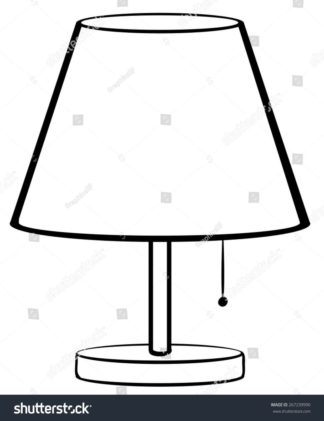 lamp clipart black and white - photo #26