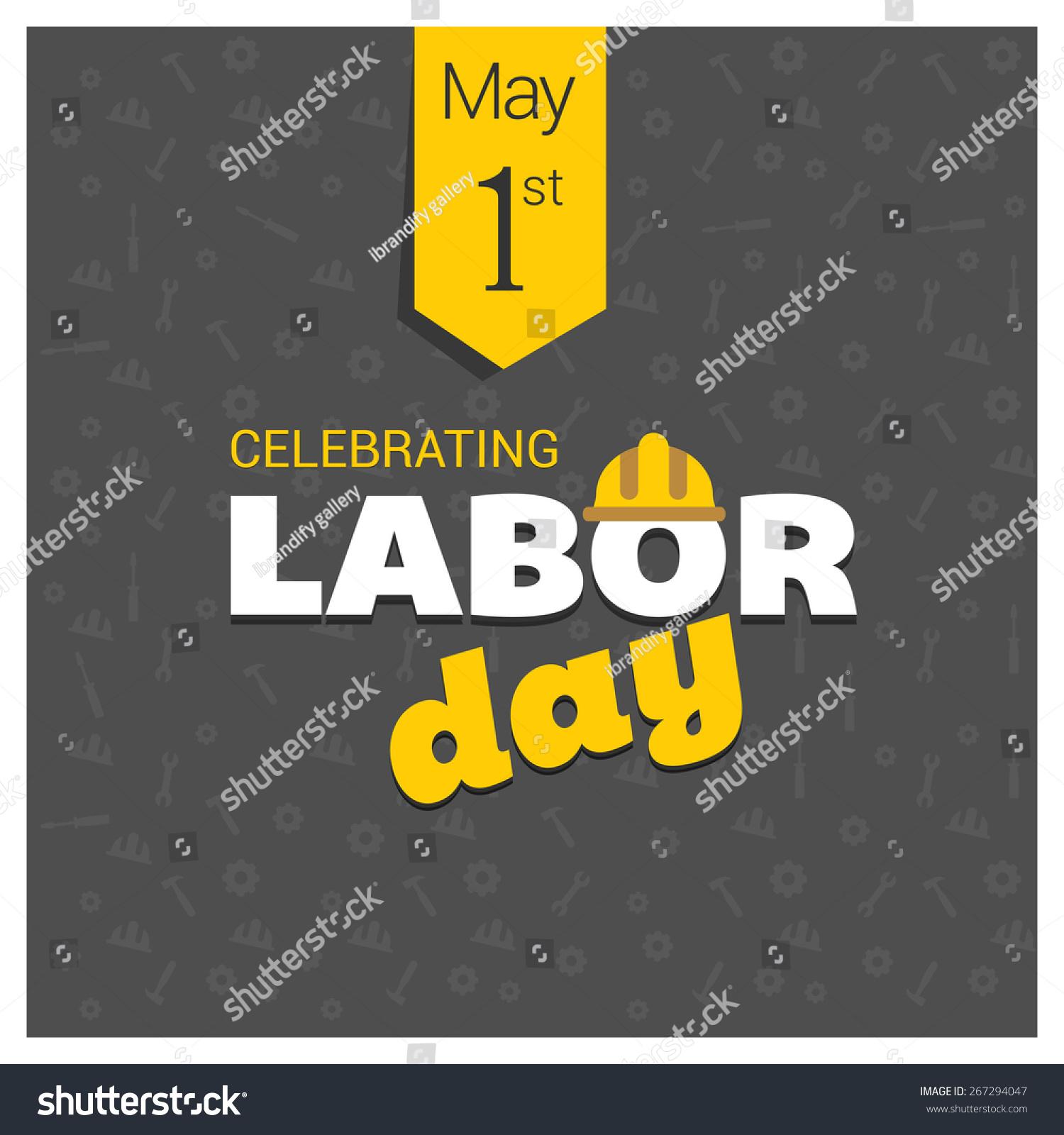 Labor Day Logo Poster Banner Brochure Stock Vector 267294047 ...