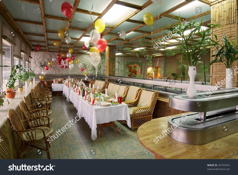 Family Restaurant Interior : Family restaurant interior stock photo