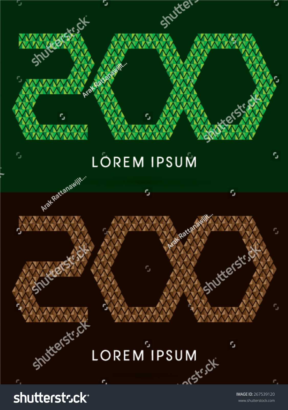 200 number font concept leaf rock stock vector 267539120 shutterstock 200 number font concept leaf and rock designed using green and brown biocorpaavc Gallery