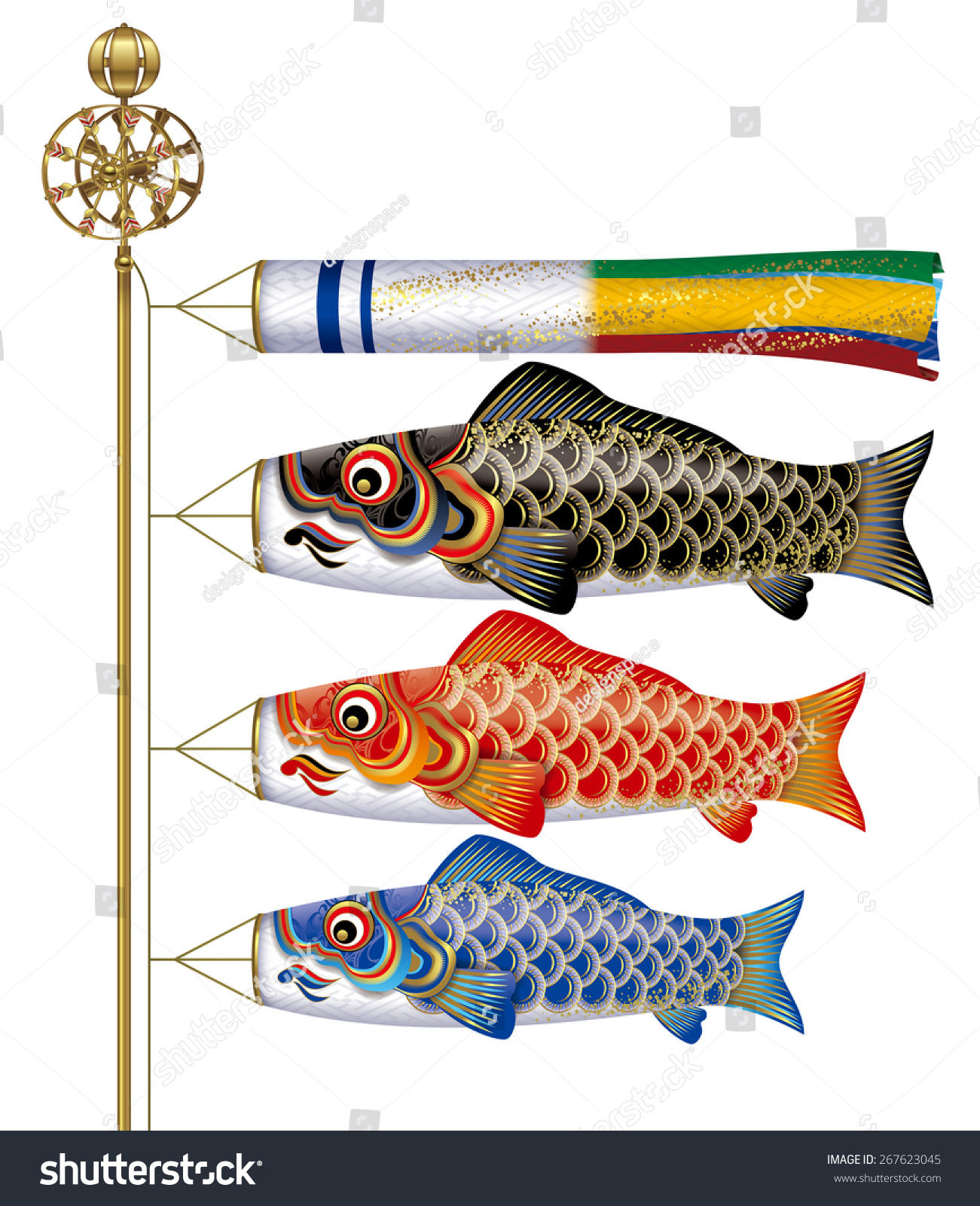 Related keywords suggestions for japanese carp streamers for Japanese fish flag