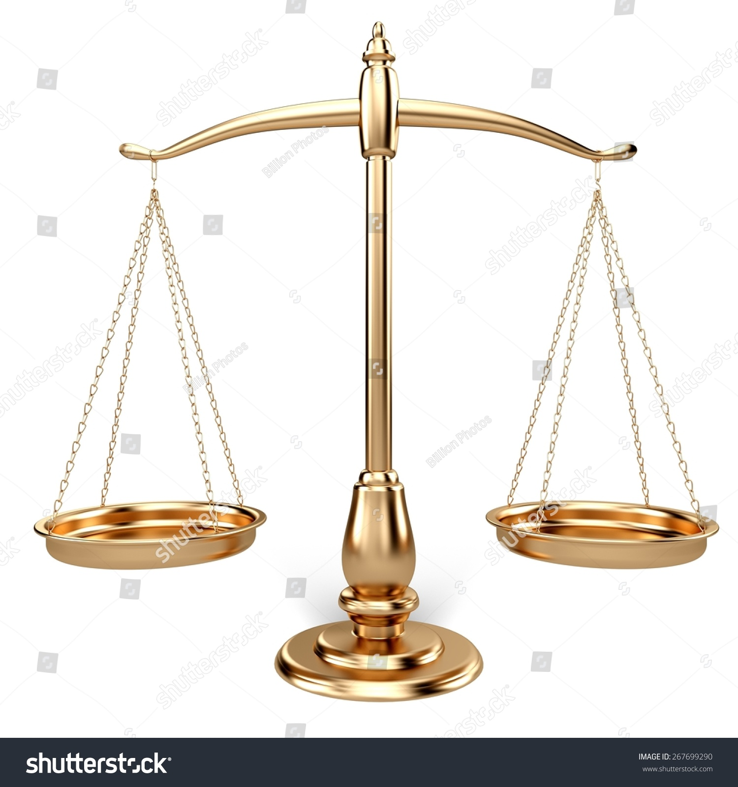 3d weight scale scales justice law stock illustration 267699290