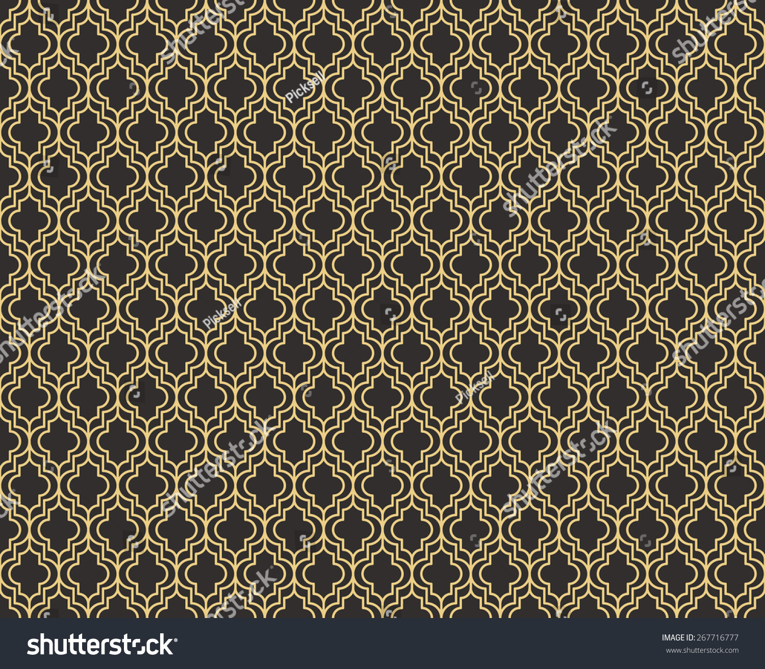seamless antique palette art deco pattern vector. Black Bedroom Furniture Sets. Home Design Ideas