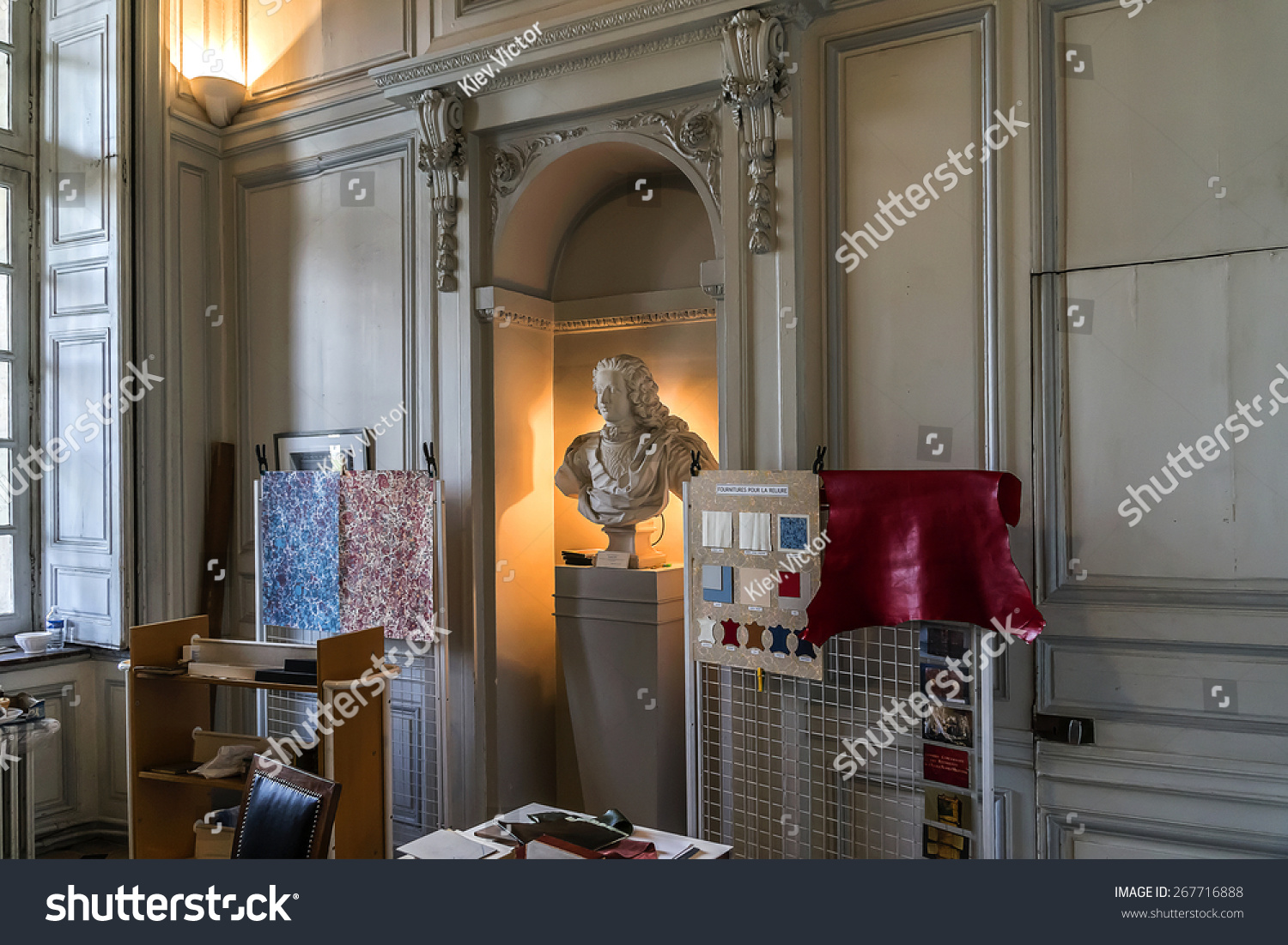 PARIS FRANCE SEPTEMBER 14 2014 Interior Stock Photo (Royalty Free ...