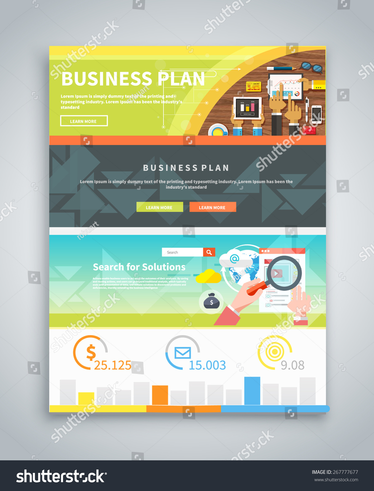 infographic business brochures banners analytics strategy stock infographic business brochures banners analytics strategy data visualization web banners marketing materials
