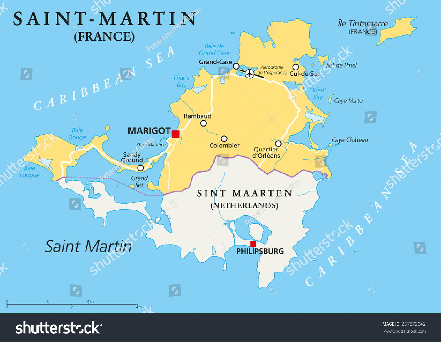 Caribbean Islands Countries And Capitals The Most Beautiful - Map of the caribbean island