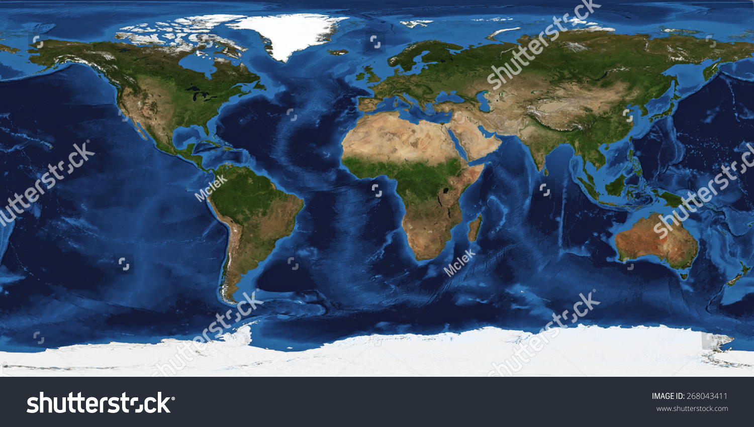 Royalty Free Stock Illustration Of Xxl Size Physical World Map