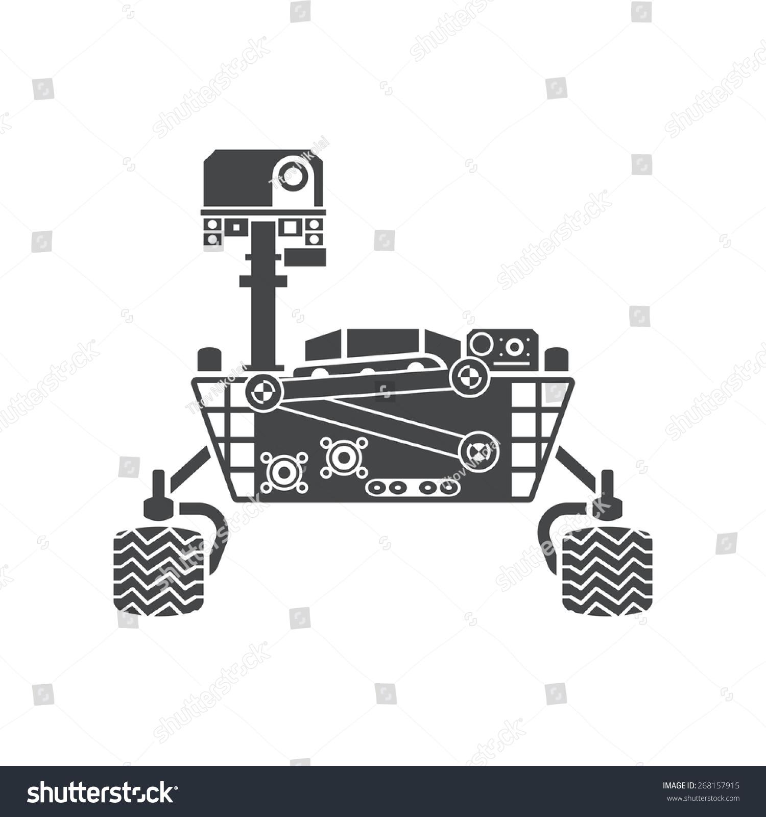 mars rover vector - photo #2