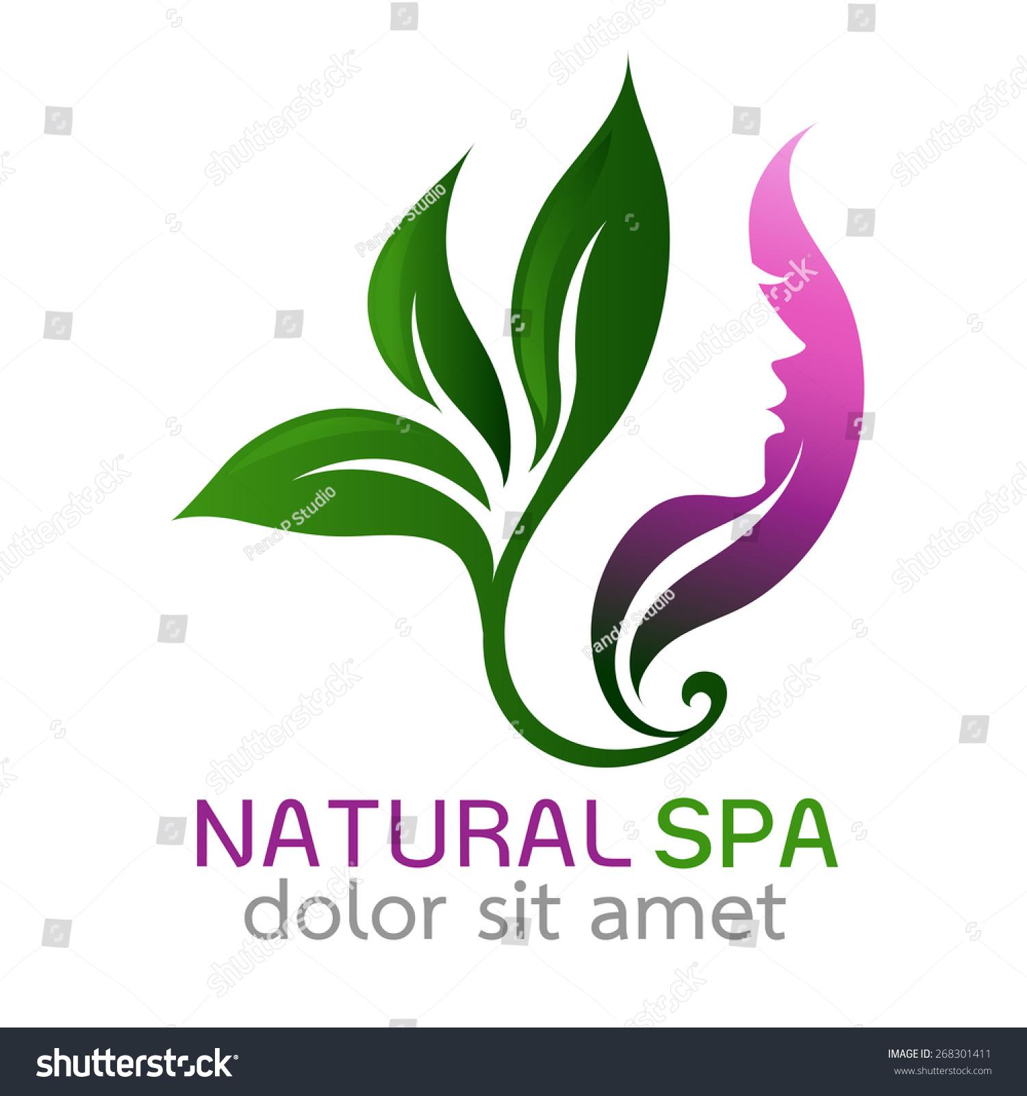 Beauty salon logo ideas vector images - Beauty design ...