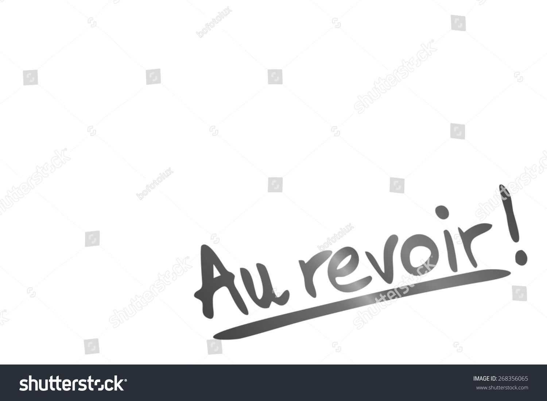 Bye Bye French Language Stock Illustration 268356065 Shutterstock