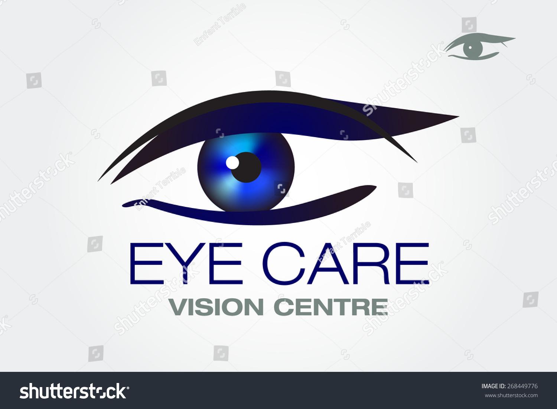Eye Vision Vector Business Sign Design Stock Vector 268449776 ...