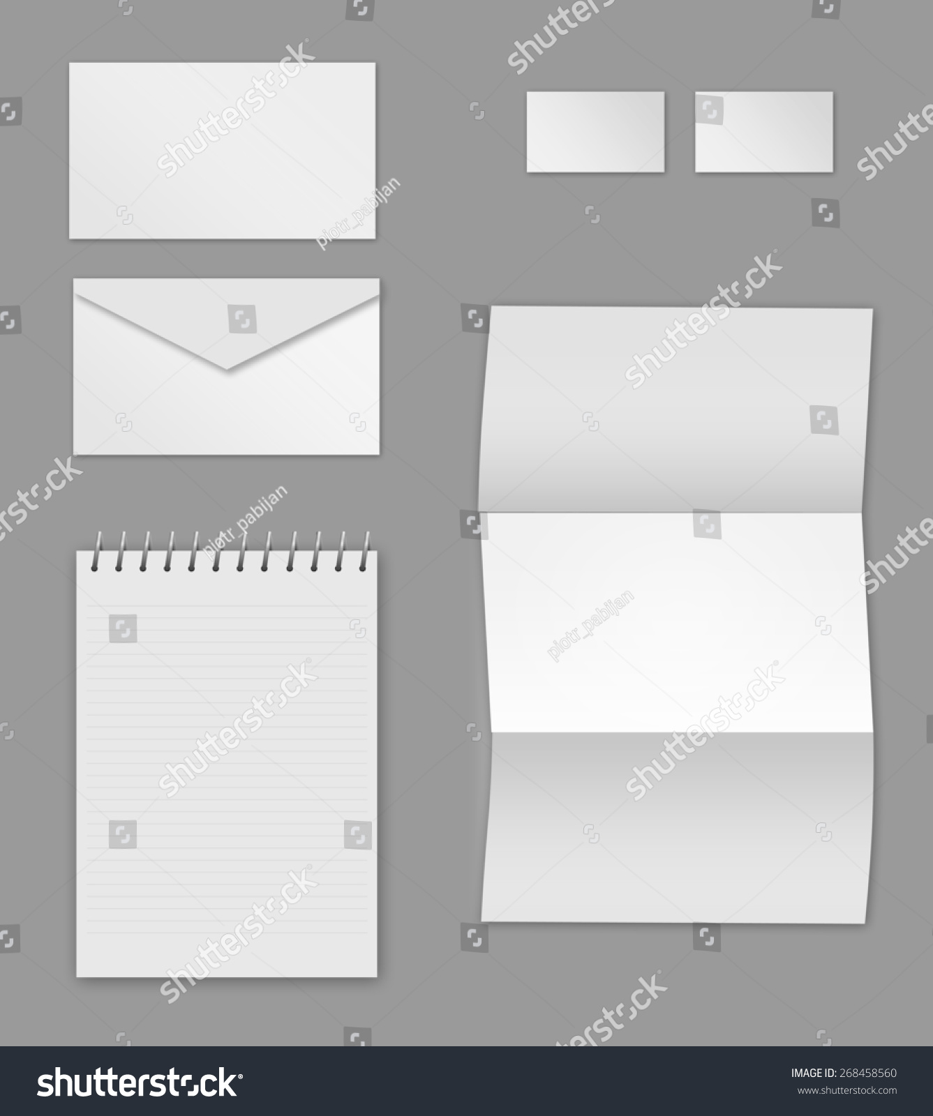 Corporate Identity Stationery Templates Incl Business Stock ...