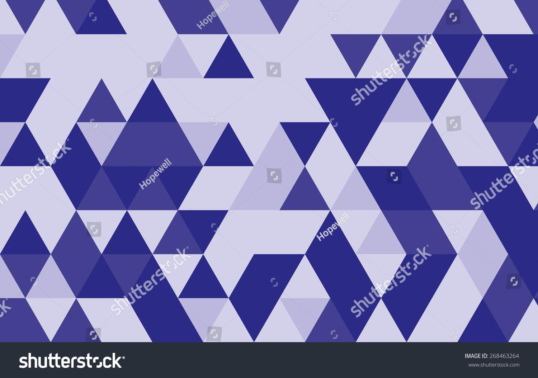 Purple Geometric Pattern Backgroundtriangle Pattern Vector ...