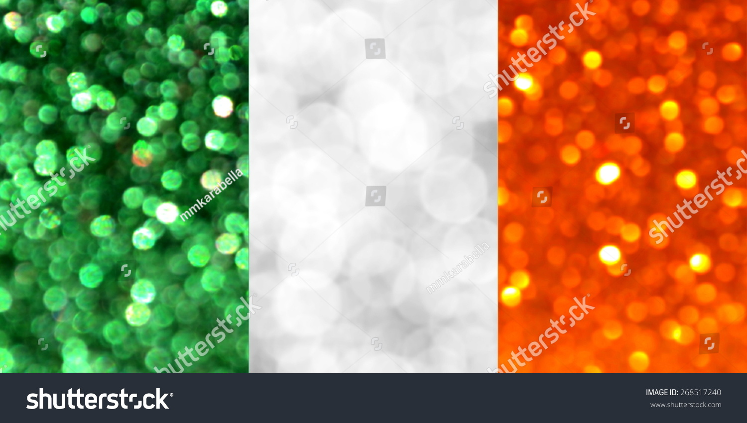National Flag Ireland Made Bright Abstract Stock Photo (Edit Now ...