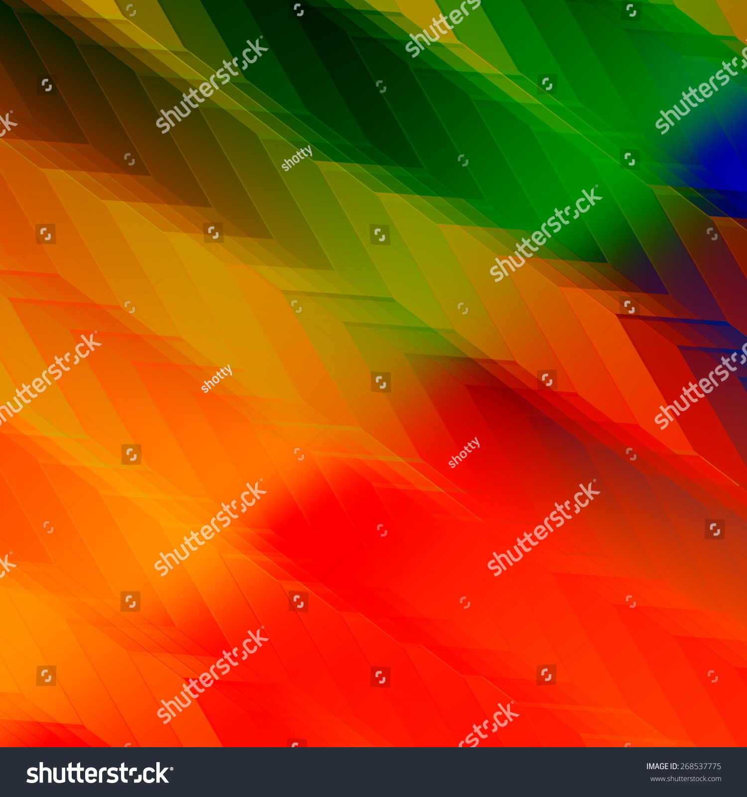 colorful rainbow colors background artistic stylish design abstract color pattern modern illustration for
